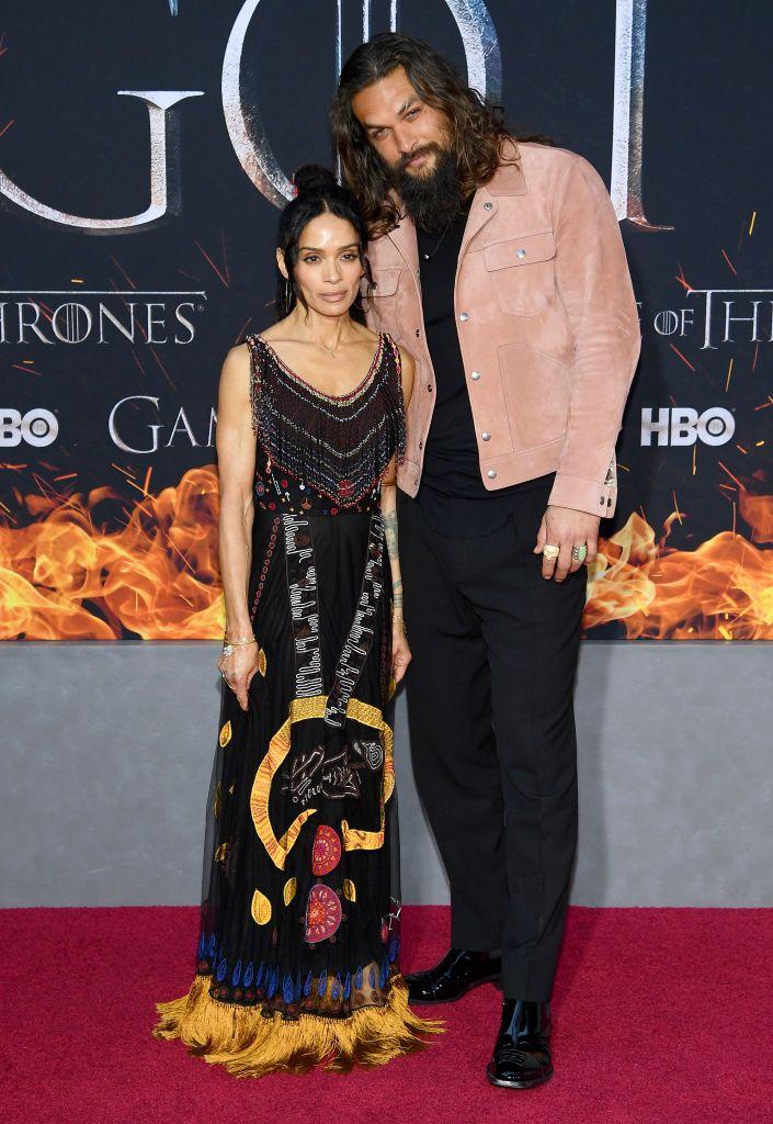Jason Momoa (Khal Drogo) and Lisa Bonet