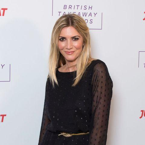 we're loving lisa faulkner's chic £59 culottes