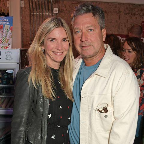 Lisa Faulkner and John Torode enjoy loved up honeymoon
