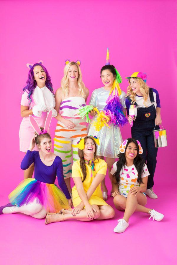 330f4442b2 25 Cute Group Halloween Costume Ideas - Easy DIY Friend Halloween Costumes