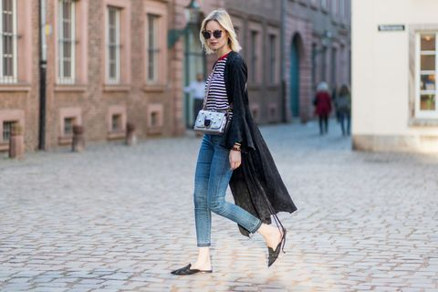 Street Style In Duesseldorf - March 2017