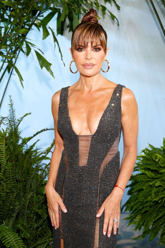 Lisa Rinna, 56, Shows Off Toned Body In New Dance Video While Wearing Kim K's Shapewear Line