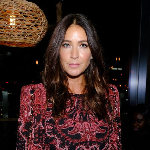 Lisa Snowdon just wore the perfect Christmas party dress from French Connection