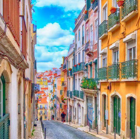 Hen dos abroad - Lisbon