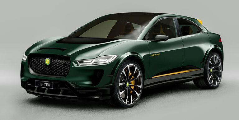 Lister SUV-E Concept is a Quicker, Carbon-Fibered Jaguar I-Pace