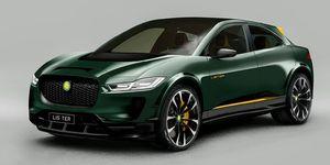 Lister SUV-E. Jaguar I-Pace