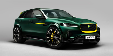 Lister Is Turning The Jaguar F Pace Into The World S Fastest Suv