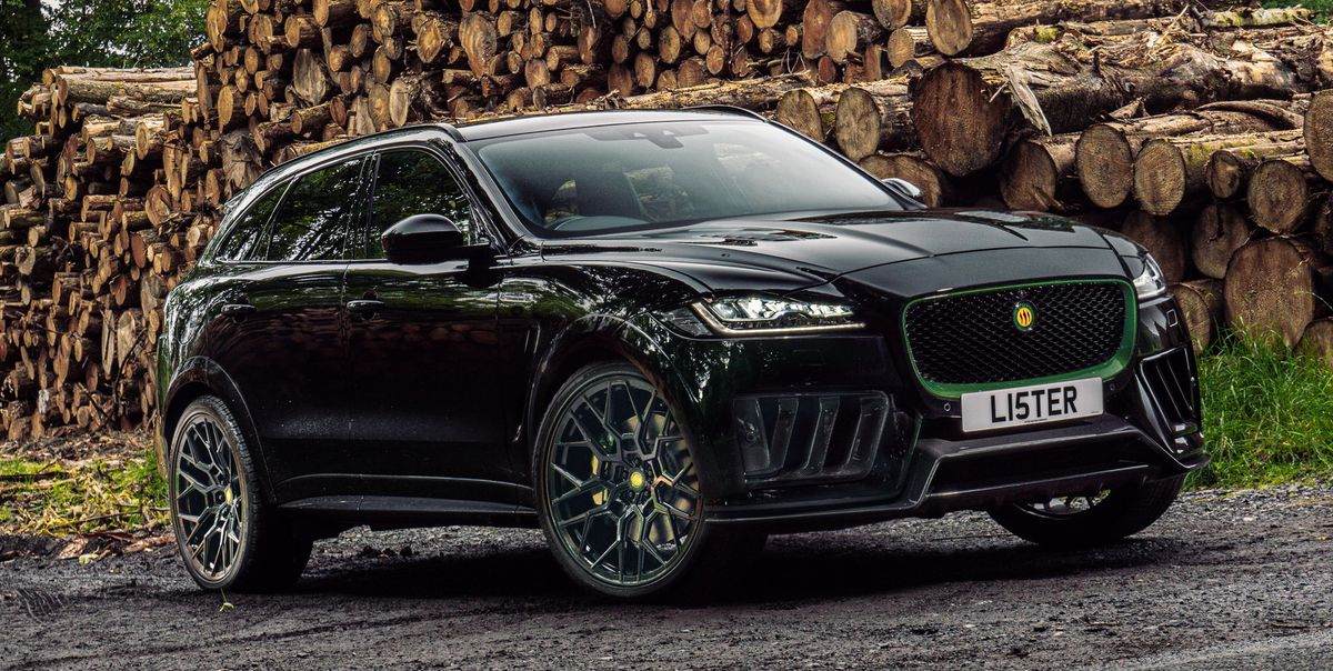 Lister Stealth: El Jaguar F-Pace que supera los 300 km/h