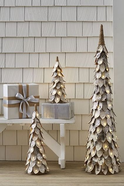 christmas decorating ideas christmas trees - Winter Wonderland Christmas Decorations