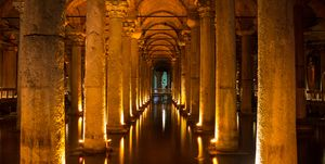 The Secret Cisterns In The Belly of Byzantium