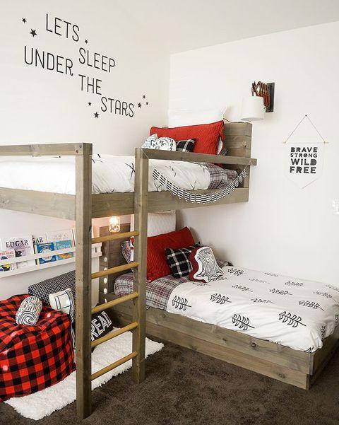 Consejos E Ideas Para Una Habitacion Con Literas - Fotos-de-literas