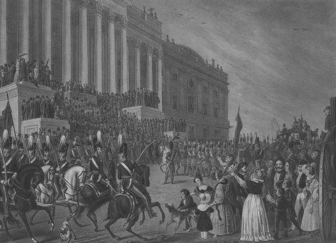 inauguration of wh harrison