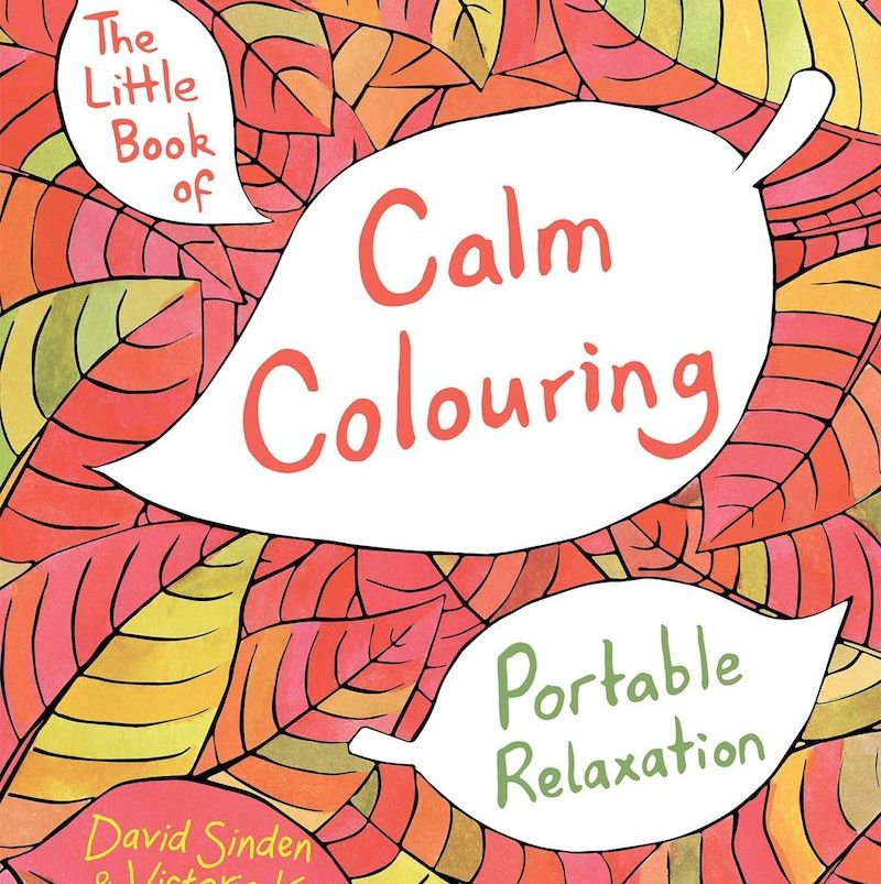 Adult colouring books -The Little Book of Calm Colouring