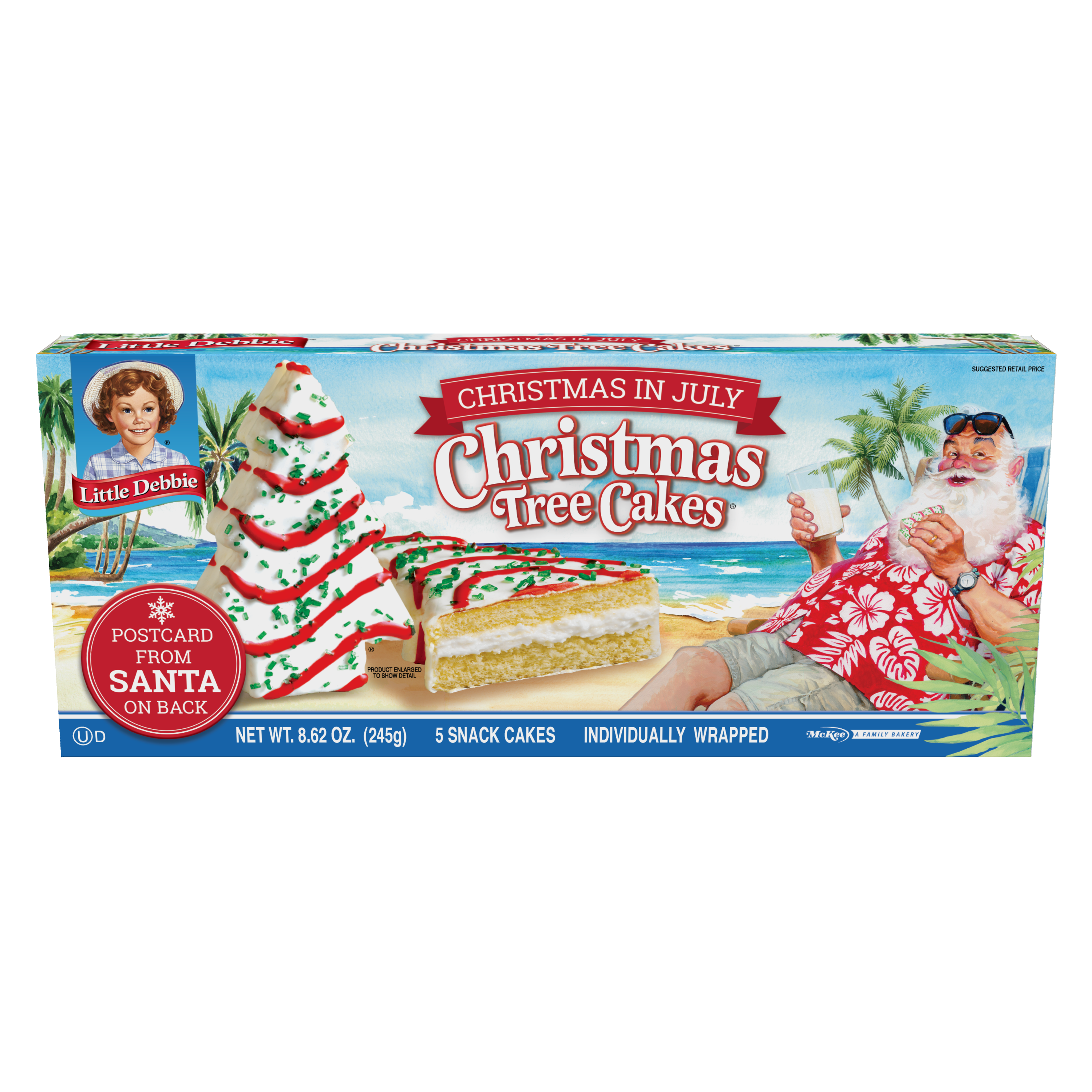 Little Debbie Is Selling Christmas Tree Cakes In July This Year