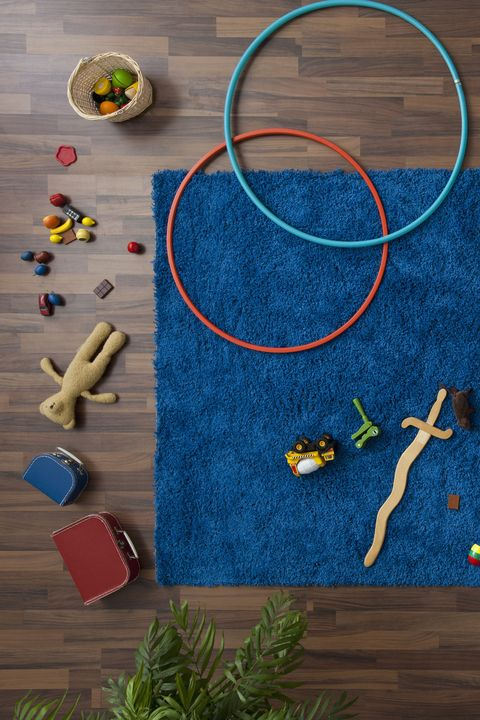 Playroom With Hula Hoops