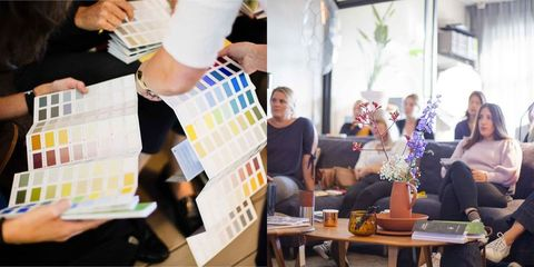 Interieurkleuren kiezen tijdens Little Greene's Colour Event