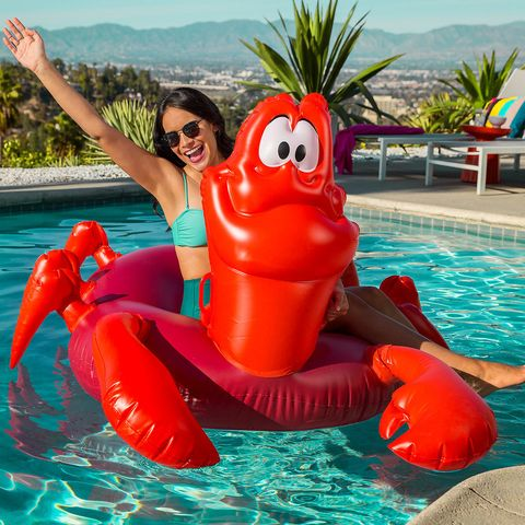 disney just launched a collection of little mermaid pool floats
