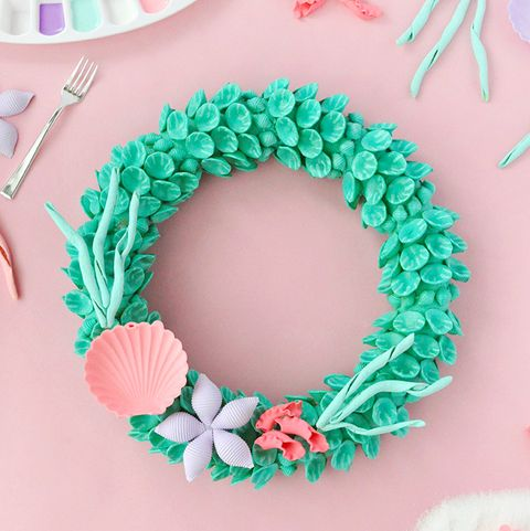 Little Mermaid Wreath - Summer Wreaths