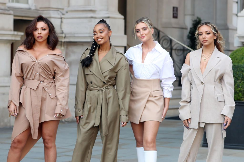 An old clip of Little Mix has surfaced and people are saying it shows tensions in the group