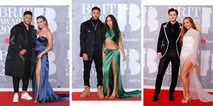 Little Mix brought their boyfriends to the Brit Awards and it was cute