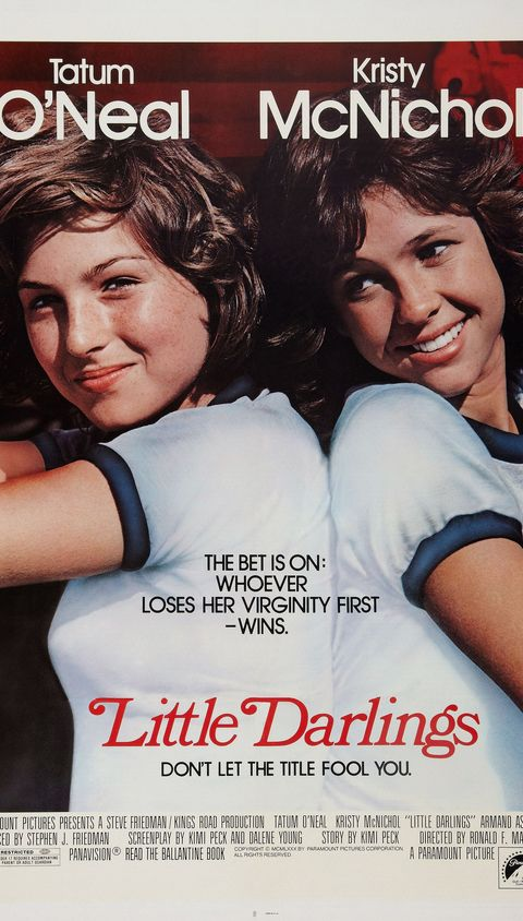 LITTLE DARLINGS, US poster art, from left: Tatum O'Neal, Kristy McNichol, 1980, ©Paramount/courtesy