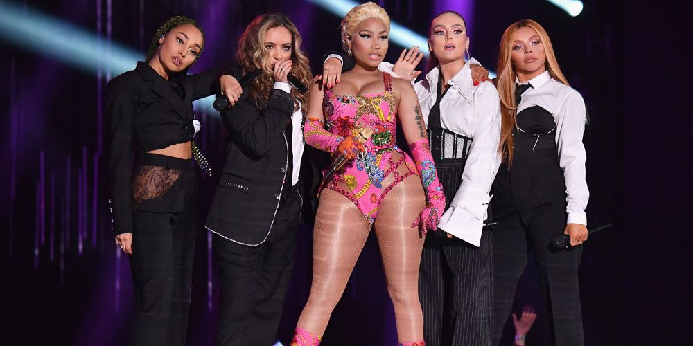 Image result for little mix 2018 performance nicki minaj