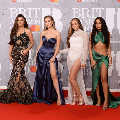 Little Mix at the Brit Awards 2019