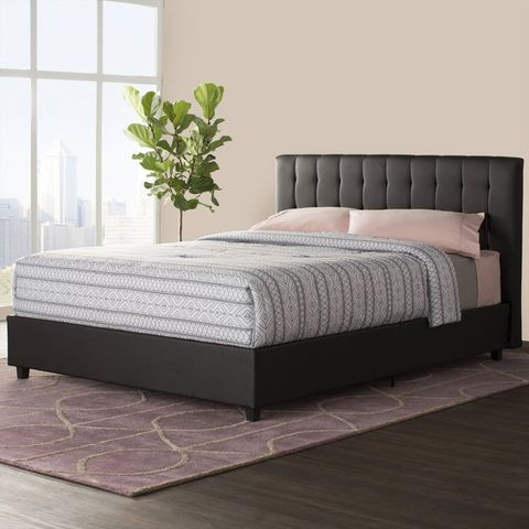 Bed, Furniture, Mattress, Bedroom, Bed frame, Box-spring, Room, Bed sheet, Drawer, Bedding,