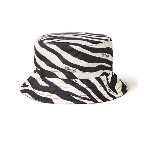 bucket hat zebra print