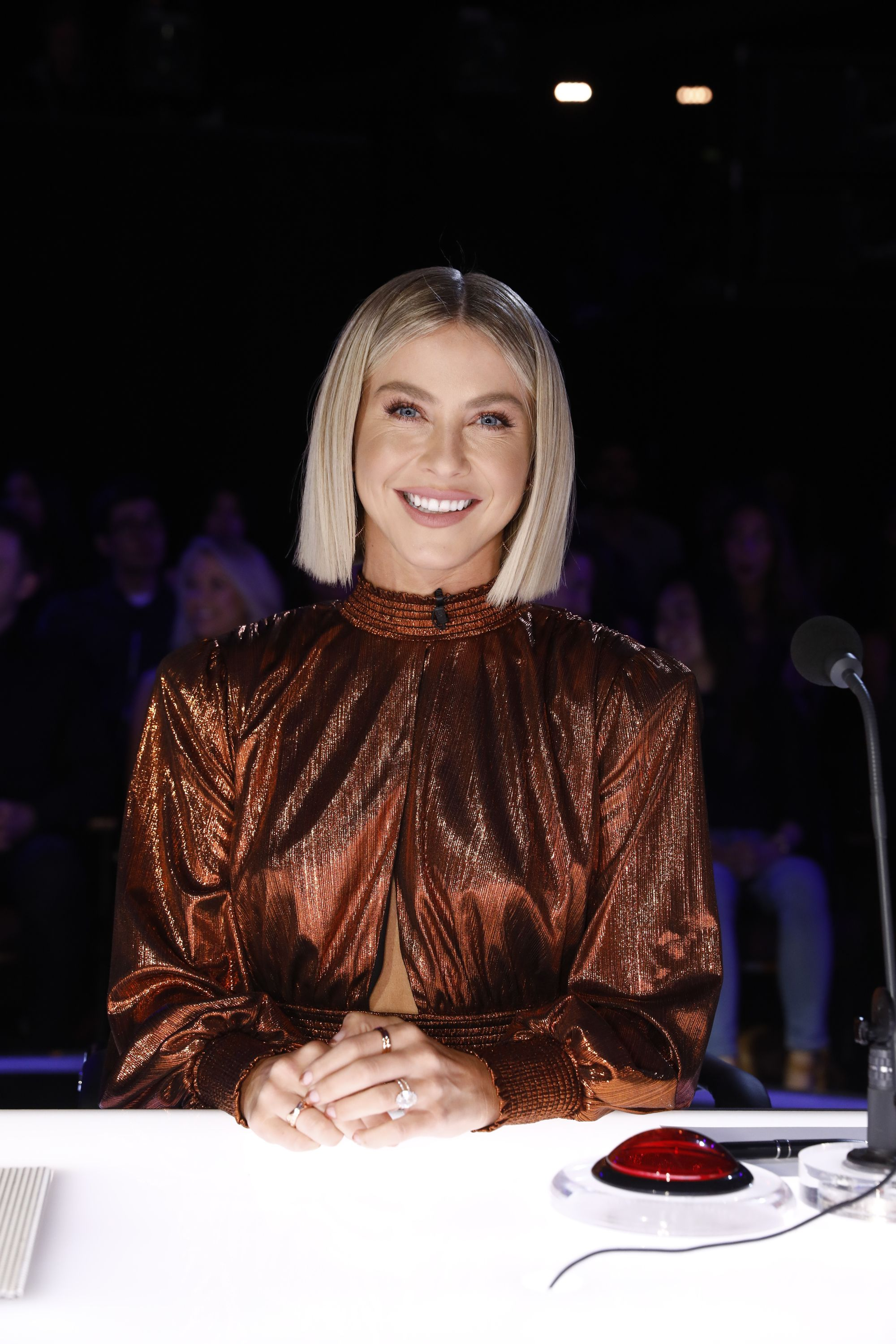 Julianne Hough Just Shared A Topless Instagram Ahead Of The 'America's Got Talent' Finale