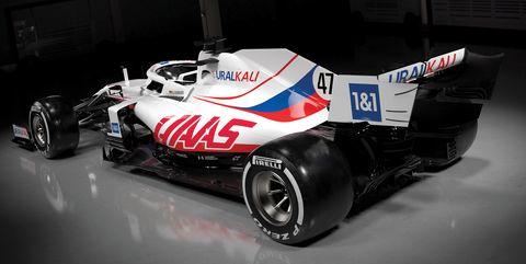 nuevo diseño de haas f1 team para 2021