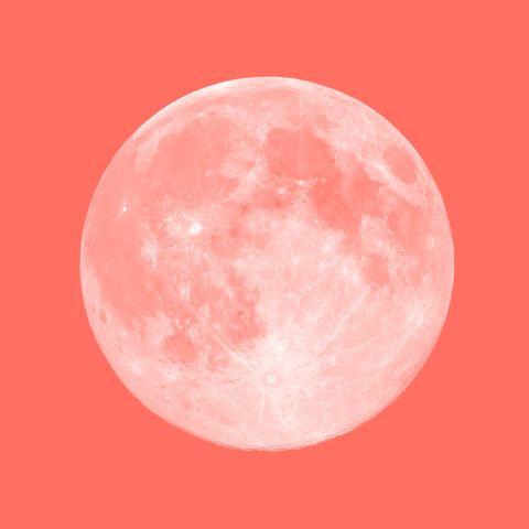 full pink super moon