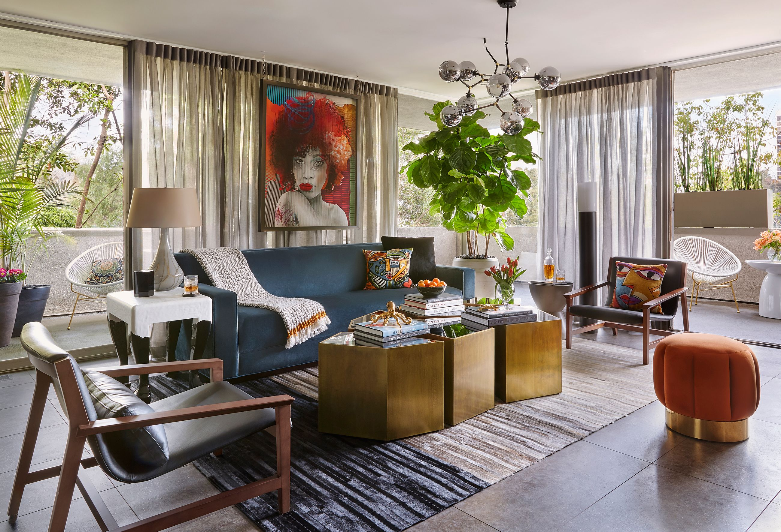 Tour A Fearlessly Eclectic L Home