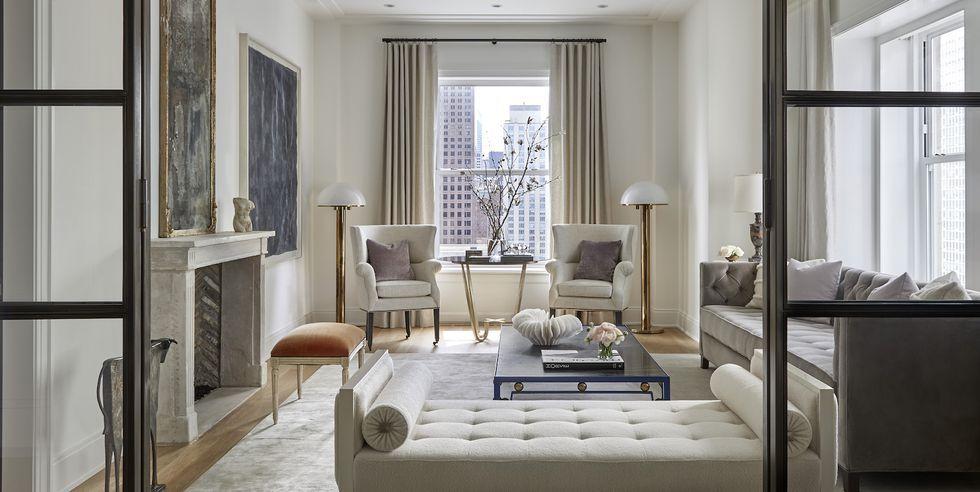 Tony Soluri. Glam Chicago Living Room & 50 Gorgeous Living Room Ideas - Stylish Living Room Design Photos