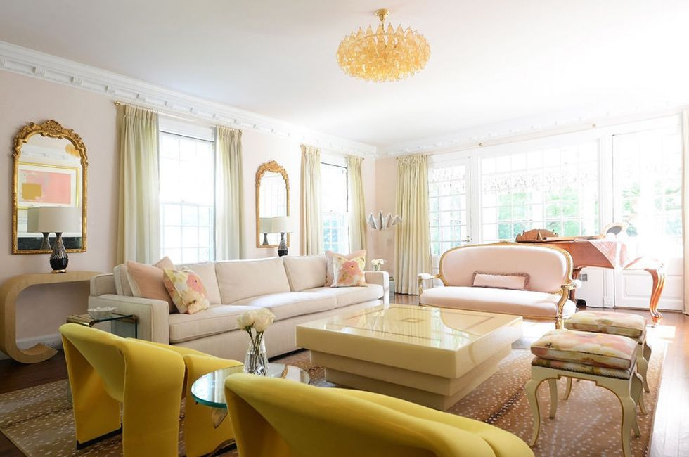Living Room Color Palette Ideas - How to Use Color in a Living Room