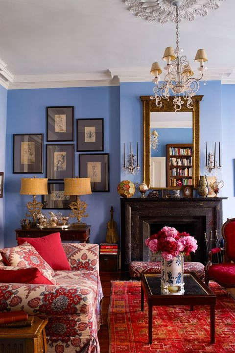 20 Living Room Color Ideas - Best Paint & Decor Colors for ...