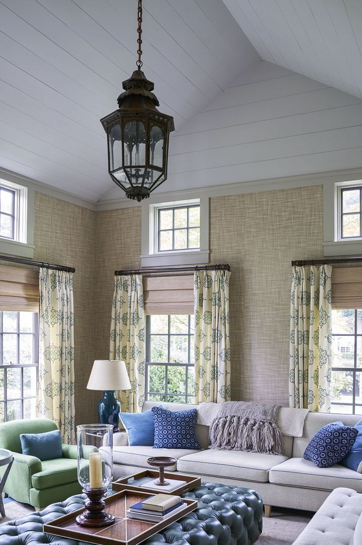 Curtain Design Ideas For Living Room: Window Drapes For Living Rooms