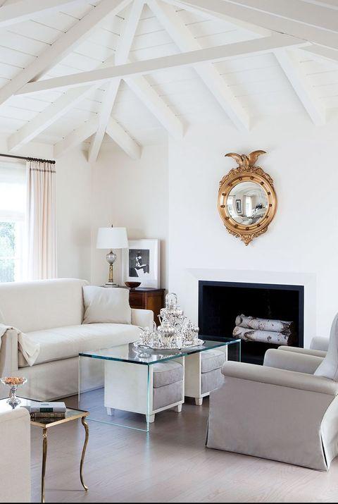 55 Best Living Room Decorating Ideas, White Furniture Living Room Decorating Ideas