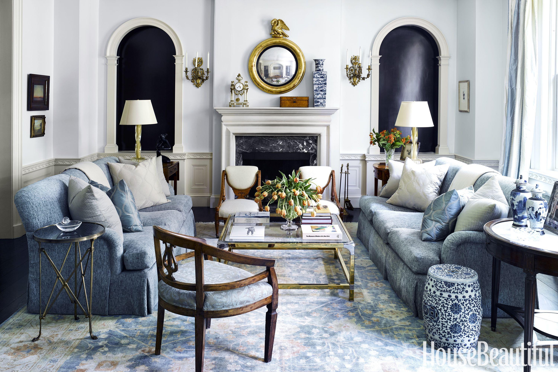 Home Interior Living Room Photos: French Country Interior Decor