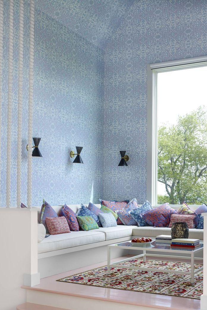 20 Inspiring Living Room Wallpaper Ideas Best Wallpaper Decorating Ideas