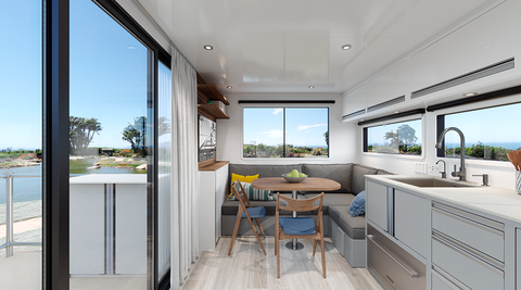 Sala E Salotto 2020.La Casa Mobile In Alluminio Living Vehicle 2020