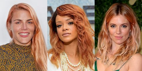 Image result for living coral hair color