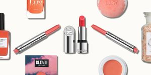 Living Coral Pantone Colour Of The Year 2019 Beauty Products