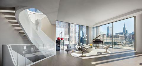L'attico di Zaha Hadid a New York che tutti vorremmo comprare