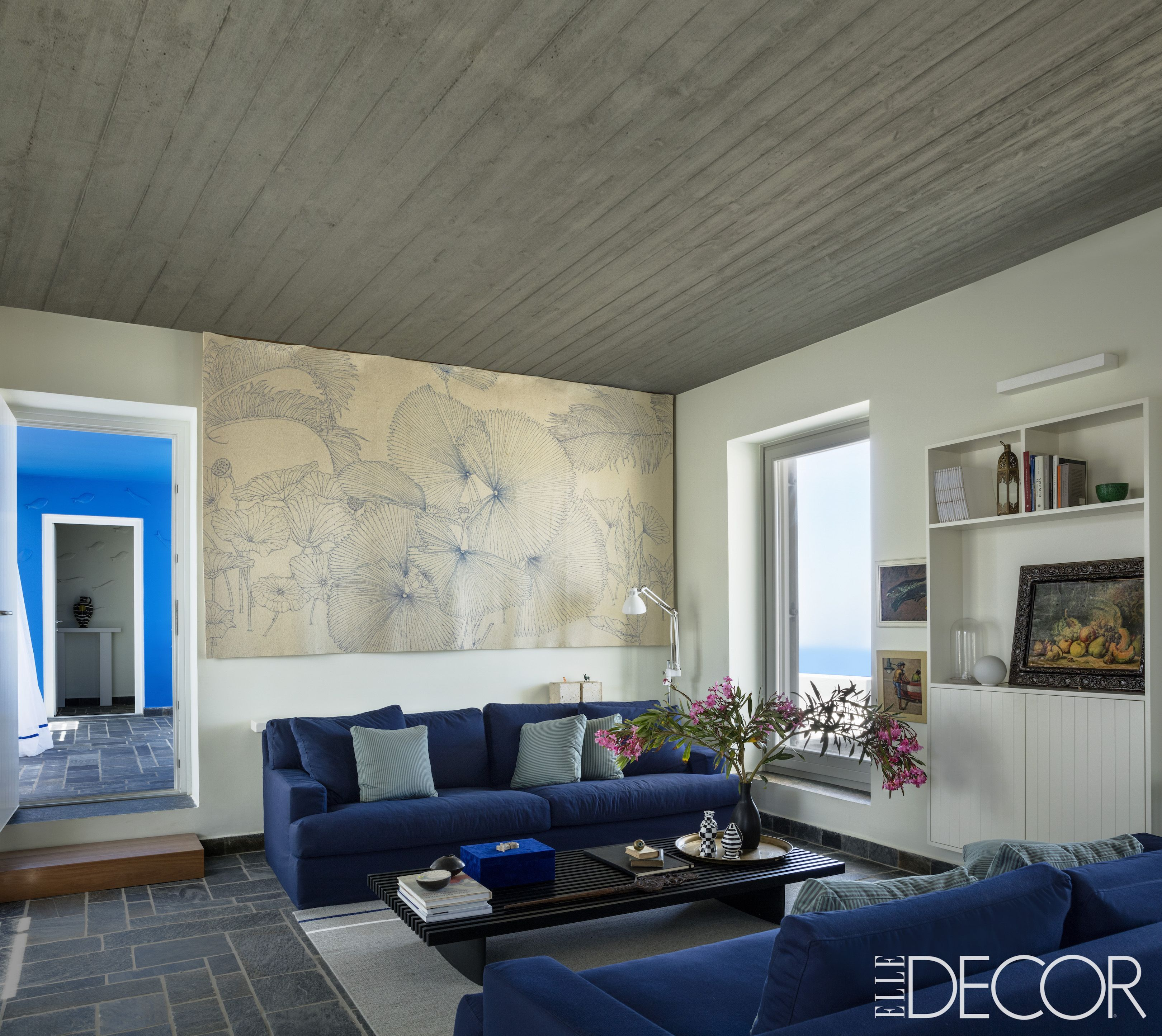 Best Living Room Ideas - Beautiful Living Room Decor & 50 Blue Room Decorating Ideas - How to Use Blue Wall Paint \u0026 Decor
