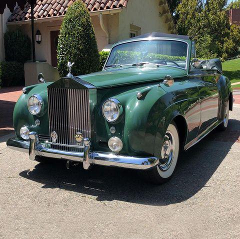 Elizabeth Taylor's Vintage Rolls Royce