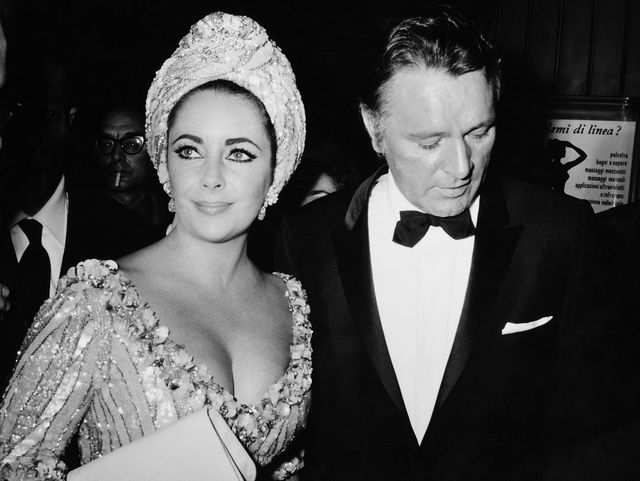 italy   october 05  richard burton and elisabeth taylor at the sistina theater at rome in italy on october 5th 1966  photo by keystone francegamma keystone via getty images