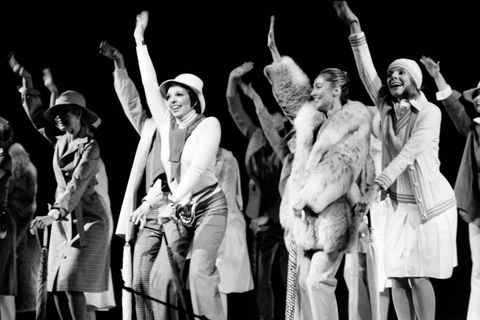 us singer liza minnelli performs on november 29, 1973 during a concert to benefit the restoration of the palace of versailles photo by    afp photo by  afp via getty images