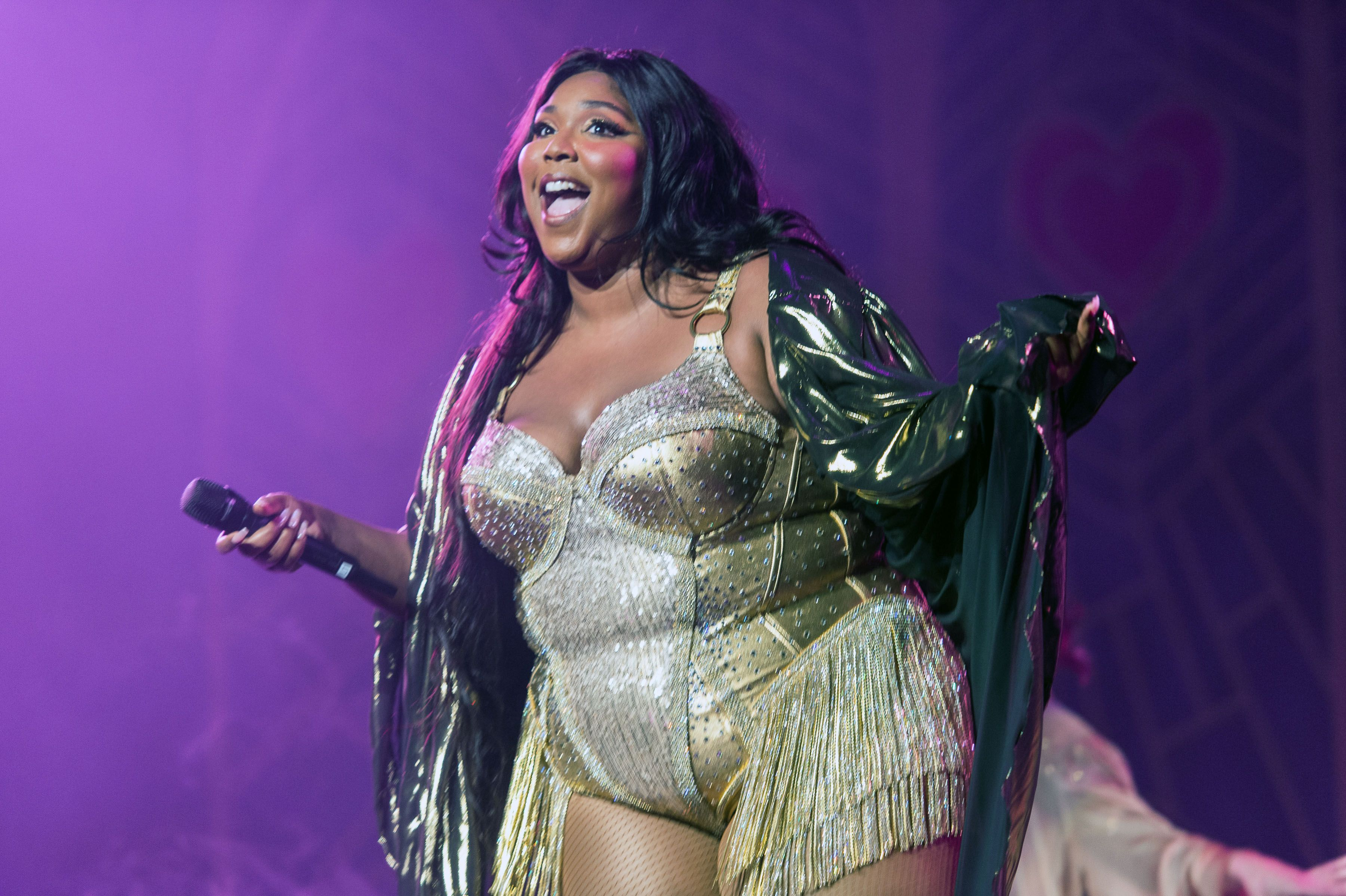 "Lizzo Covered Kylie Jenner's Hit Meme ""Rise and Shine"" in Concert"
