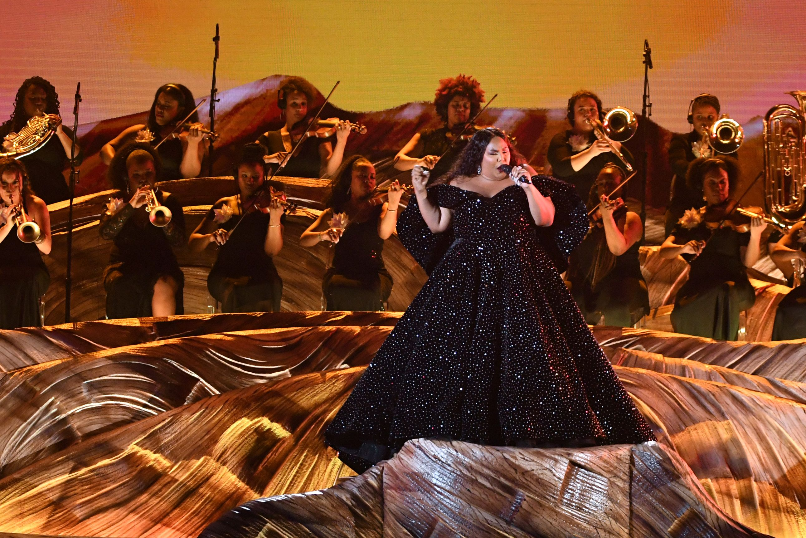 Image result for lizzo grammys